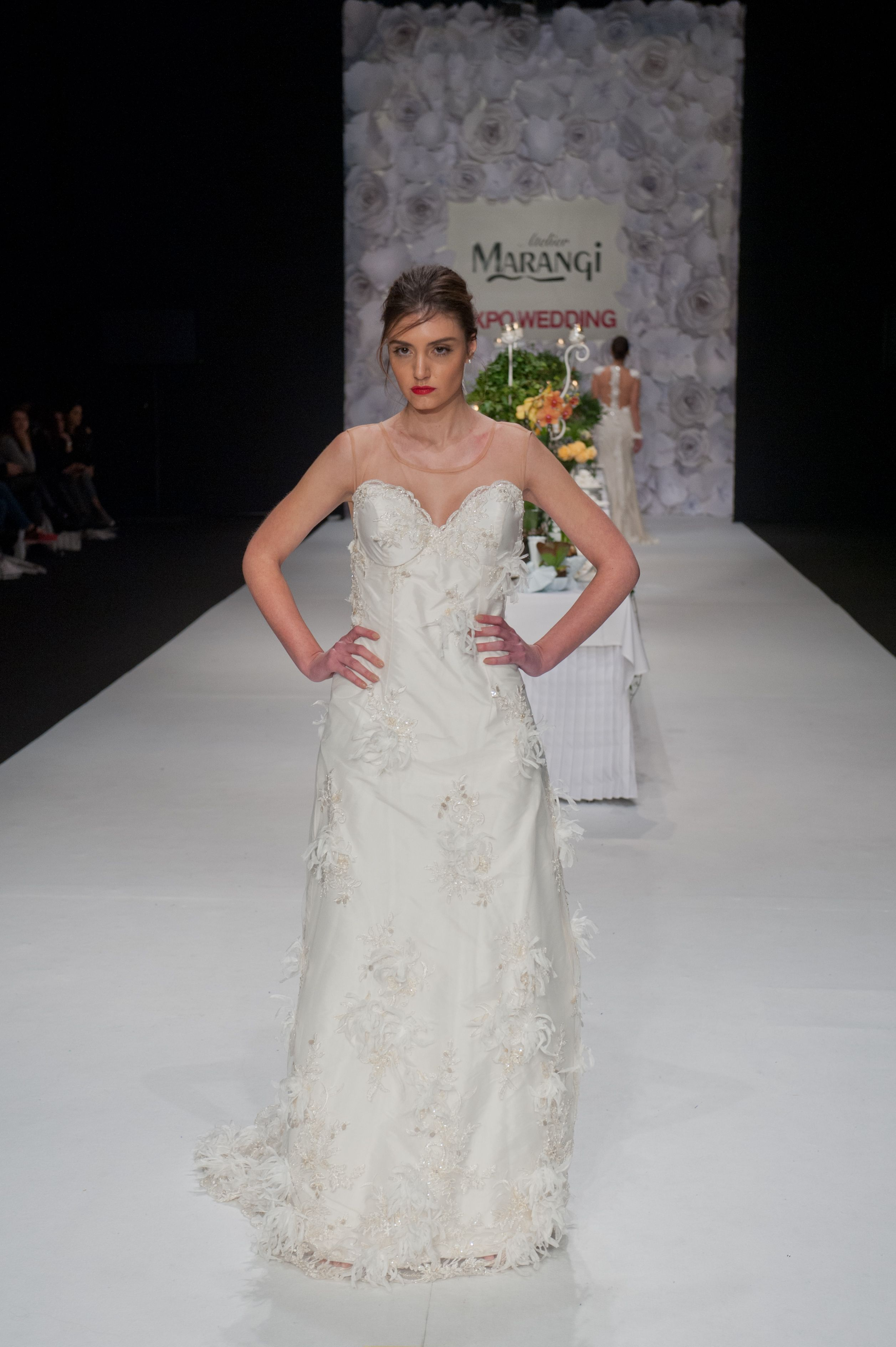 Νυφικό Φόρεμα Γοργονέ – 1047