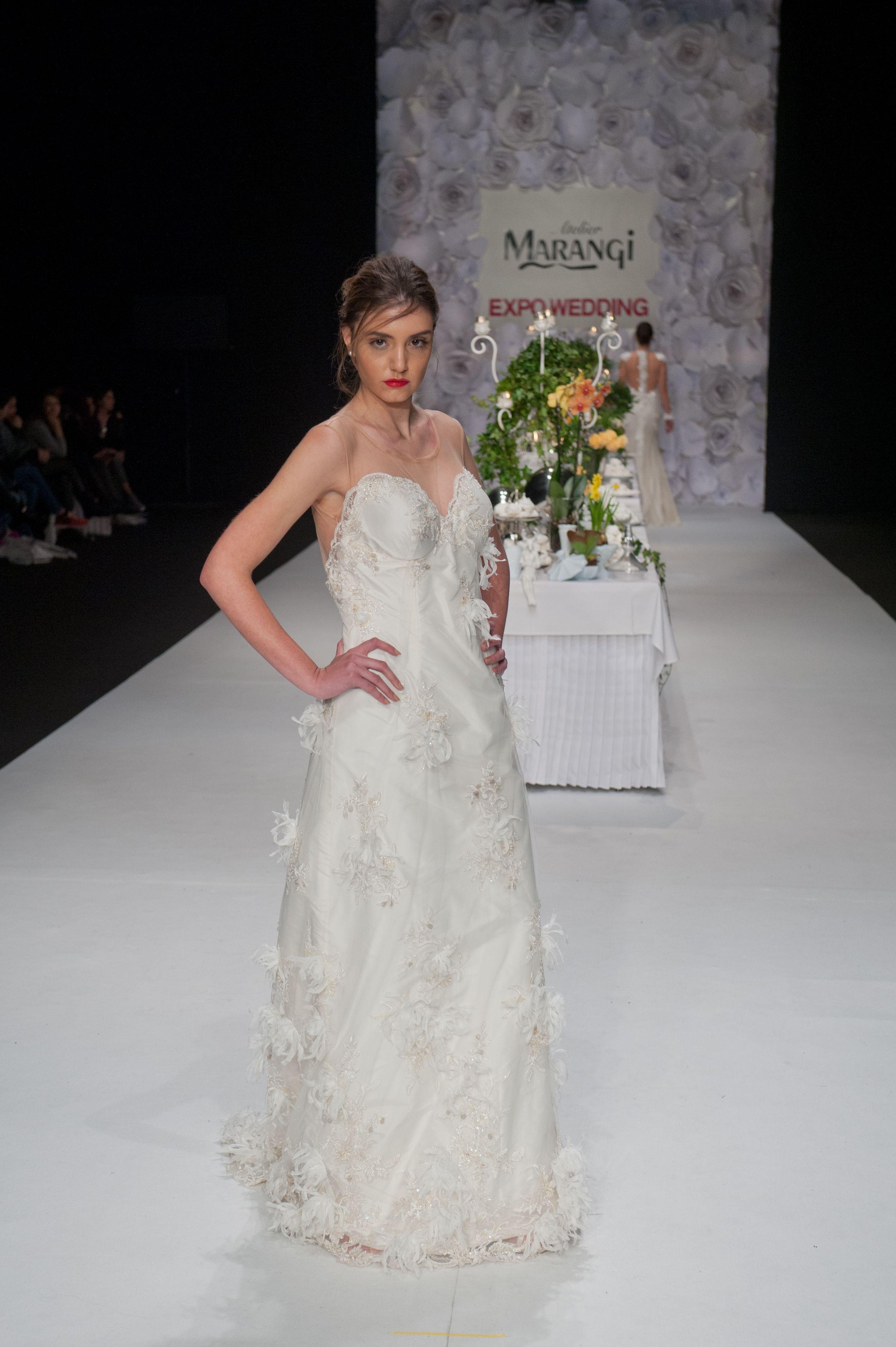 Νυφικό Φόρεμα Γοργονέ – 1047 side