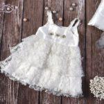 Βαπτιστικό χειροποίητο φόρεμα