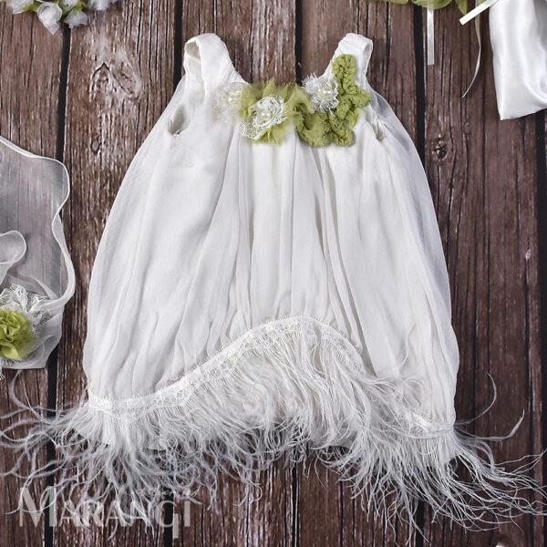 Βαπτιστικό χειροποίητο φόρεμα ΒΚ-106