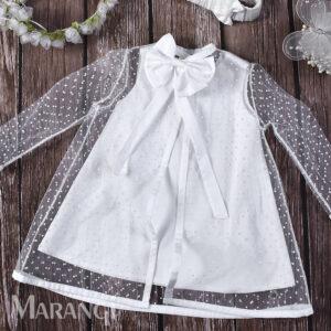 Βαπτιστικό χειροποίητο φόρεμα ΒΚ-107