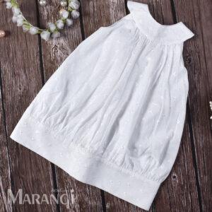 Βαπτιστικό χειροποίητο φορεματάκι ΒΚ-113