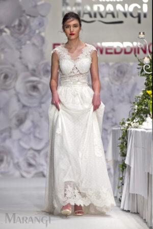 Νυφικό Φόρεμα Crop Top - 1004