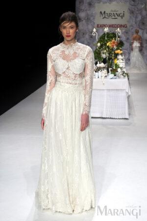 Νυφικό Φόρεμα Crop Top - 1005
