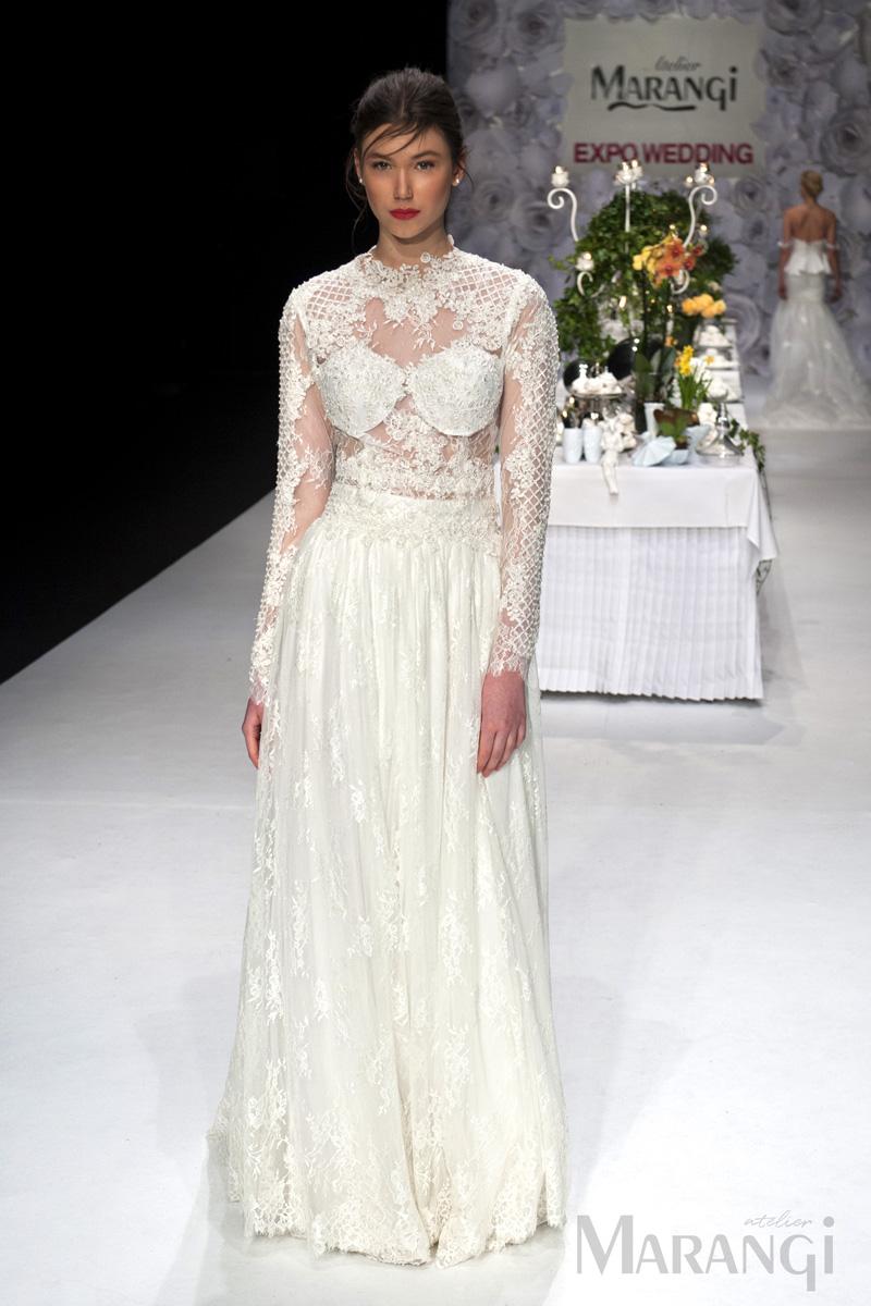 3aa332e00b9e Νυφικό Φόρεμα Crop Top - 1005