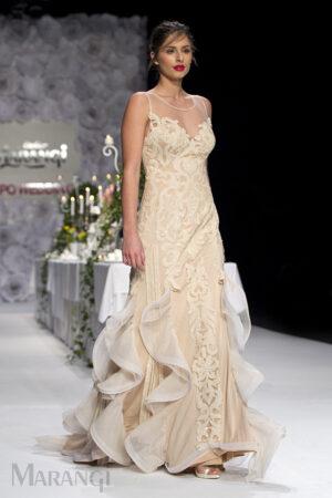Νυφικό Φόρεμα Γοργονέ - 1026