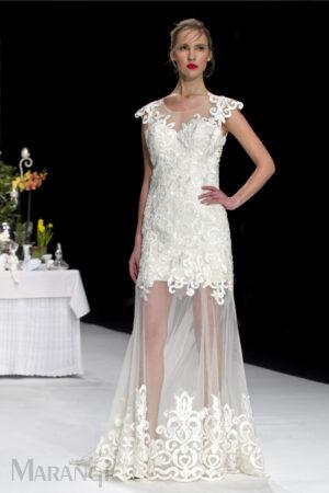 Νυφικό Φόρεμα Γοργονέ - 1028