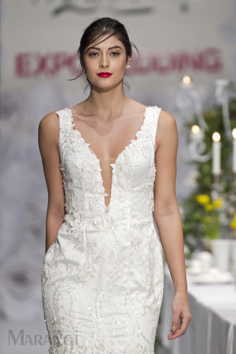 ba2b5a65da31 Νυφικό Φόρεμα Γοργονέ - 1029