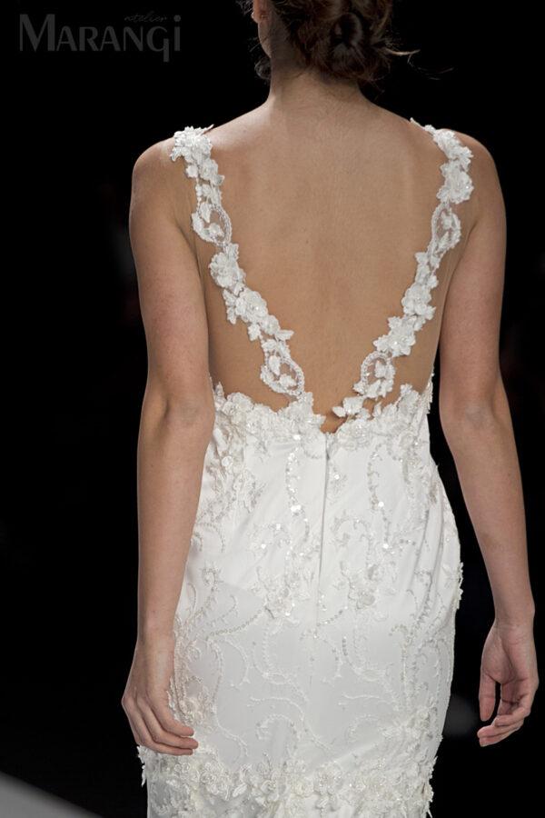 Νυφικό Φόρεμα Γοργονέ - 1029