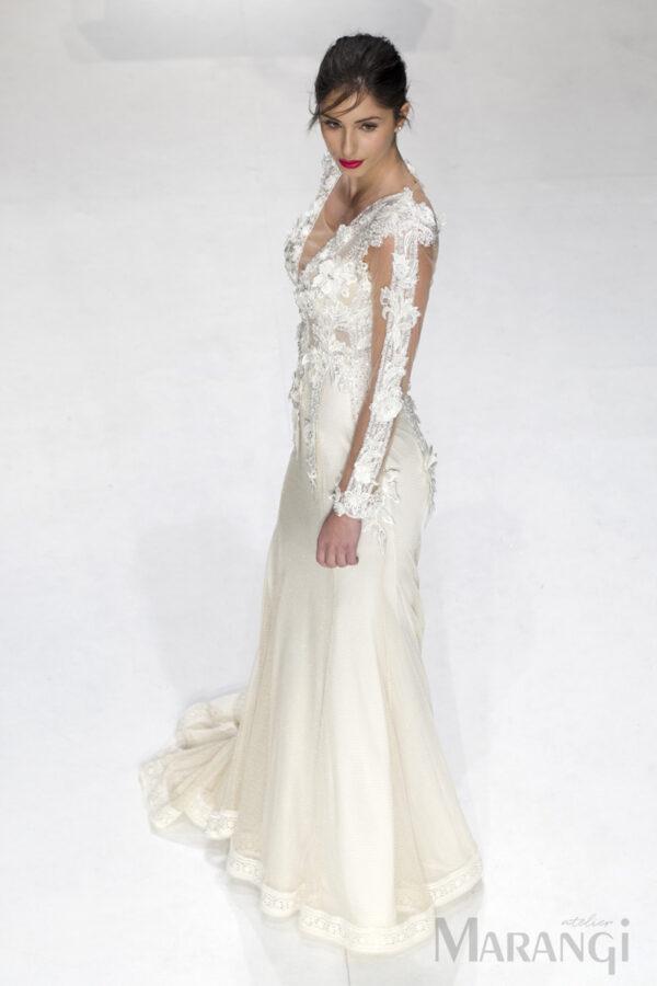 Νυφικό Φόρεμα Γοργονέ - 1032