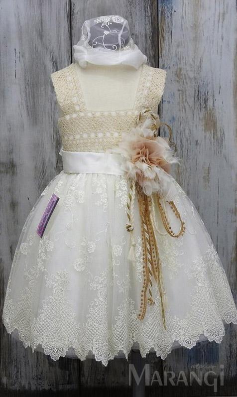 βαπτιστικό φορεμα δαντελα