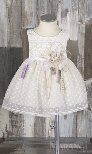 βαπτιστικο χειροποίητο φόρεμα